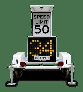 radar trailer - white- Half
